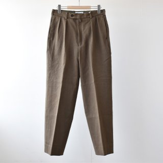 <img class='new_mark_img1' src='https://img.shop-pro.jp/img/new/icons14.gif' style='border:none;display:inline;margin:0px;padding:0px;width:auto;' />【ENDS and MEANS】Grandpa 2-Tac Trousers 2021SS -Khaki-