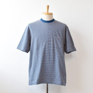 <img class='new_mark_img1' src='https://img.shop-pro.jp/img/new/icons14.gif' style='border:none;display:inline;margin:0px;padding:0px;width:auto;' />【ENDS and MEANS】  Short Sleeve Pocket TEE 2021SS  -Navy BD-