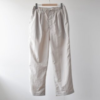 <img class='new_mark_img1' src='https://img.shop-pro.jp/img/new/icons14.gif' style='border:none;display:inline;margin:0px;padding:0px;width:auto;' />【ENDS and MEANS】  Relax Fit Trousers 2021SS  -Off White-