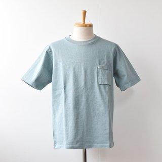 【Jackman】DOTSUME  Short Sleeve T Shirts  -Fade Green-