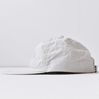 【 ENDS and MEANS】 2021SS COTTON 6 PANELS CAP -Off Beige-