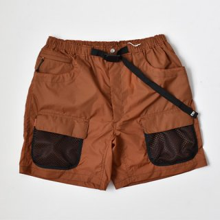 【ENDS and MEANS】2021SS UTILITY SHORTS -Brick Brown-