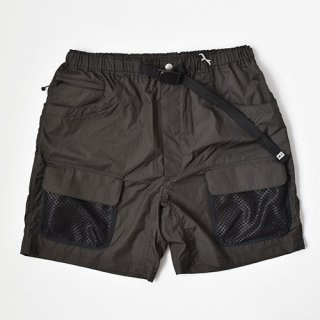 【ENDS and MEANS】2021SS UTILITY SHORTS -African Black-