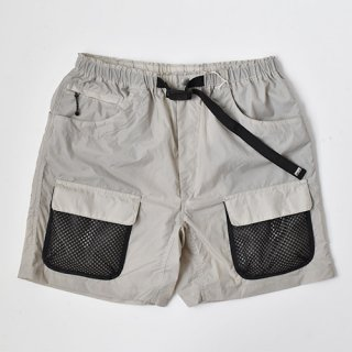 【ENDS and MEANS】2021SS UTILITY SHORTS -Light Gray-