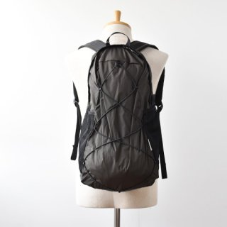 【ENDS and MEANS】2021SS Packable Nylon Backpack -African Black-