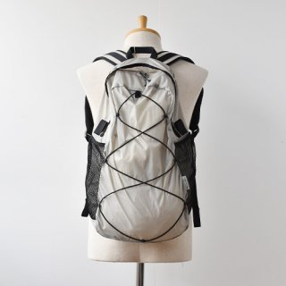 【ENDS and MEANS】2021SS Packable Nylon Backpack -Light Gray-