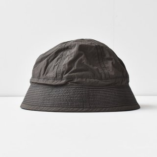 【ENDS and MEANS】2021SS NYLON ARMY HAT -African Black-