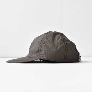 【 ENDS and MEANS】 2021SS NYLON 6 PANELS CAP -African Black-