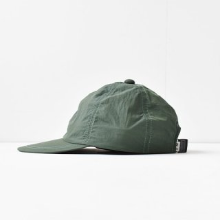 【 ENDS and MEANS】 2021SS NYLON 6 PANELS CAP -Forest Green-