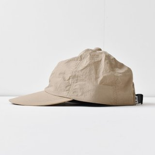 【 ENDS and MEANS】 2021SS NYLON 6 PANELS CAP -Graige-