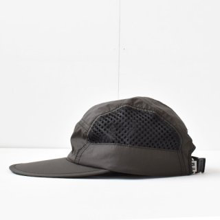 【 ENDS and MEANS】 2021SS NYLON CAMP CAP -African Black-