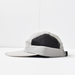 【 ENDS and MEANS】 2021SS NYLON CAMP CAP -Light Gray-