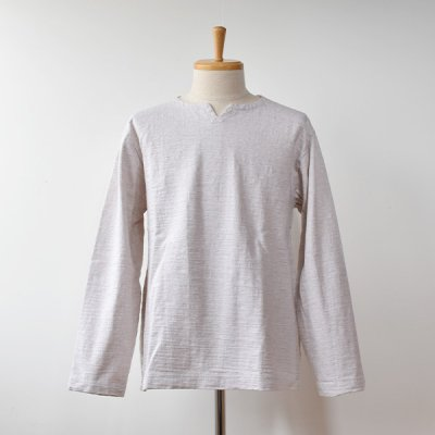 <img class='new_mark_img1' src='https://img.shop-pro.jp/img/new/icons14.gif' style='border:none;display:inline;margin:0px;padding:0px;width:auto;' />【Jackman】DOTSUME  LS Skipper Shirts  -Ash-