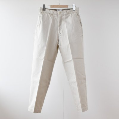 【ENDS and MEANS】 WORK CHINO 2021AW -Off White-