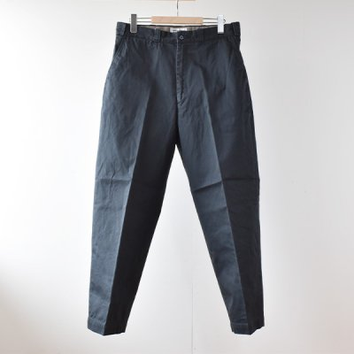 【ENDS and MEANS】 WORK CHINO 2021AW  -Navy-