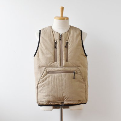 <img class='new_mark_img1' src='https://img.shop-pro.jp/img/new/icons14.gif' style='border:none;display:inline;margin:0px;padding:0px;width:auto;' />【ENDS and MEANS】 Tactical Puff Vest  2021AW  -Beige-