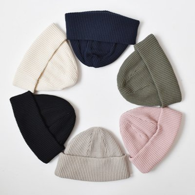 <img class='new_mark_img1' src='https://img.shop-pro.jp/img/new/icons14.gif' style='border:none;display:inline;margin:0px;padding:0px;width:auto;' />【Jackman】 2021AW Waffle Knit Cap