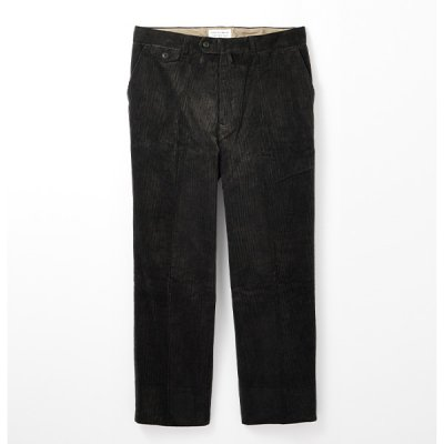 <img class='new_mark_img1' src='https://img.shop-pro.jp/img/new/icons14.gif' style='border:none;display:inline;margin:0px;padding:0px;width:auto;' />【ENDS and MEANS】 Grandpa Cord Trousers 21AW  -Black-