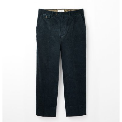 <img class='new_mark_img1' src='https://img.shop-pro.jp/img/new/icons14.gif' style='border:none;display:inline;margin:0px;padding:0px;width:auto;' />【ENDS and MEANS】 Grandpa Cord Trousers 21AW  -Navy-