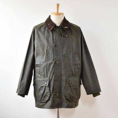 <img class='new_mark_img1' src='https://img.shop-pro.jp/img/new/icons14.gif' style='border:none;display:inline;margin:0px;padding:0px;width:auto;' />【YOUSED】Old Barbour  Resize&Oilout + Reproof  Size:38 (C) -Olive-