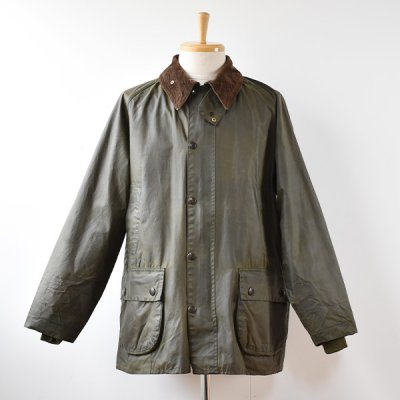 <img class='new_mark_img1' src='https://img.shop-pro.jp/img/new/icons14.gif' style='border:none;display:inline;margin:0px;padding:0px;width:auto;' />【YOUSED】Old Barbour  Resize&Oilout + Reproof  Size:42 (A) -Olive-