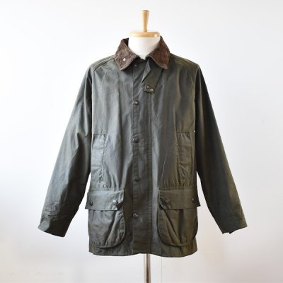 <img class='new_mark_img1' src='https://img.shop-pro.jp/img/new/icons14.gif' style='border:none;display:inline;margin:0px;padding:0px;width:auto;' />【YOUSED】Old Barbour  Resize&Oilout + Reproof  Size:38 (B) -Olive-