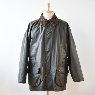 <img class='new_mark_img1' src='https://img.shop-pro.jp/img/new/icons14.gif' style='border:none;display:inline;margin:0px;padding:0px;width:auto;' />【YOUSED】Old Barbour  Resize&Oilout + Reproof  Size:42 (B) -Olive-