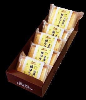 【発送用】土佐山の柚子ケーキ