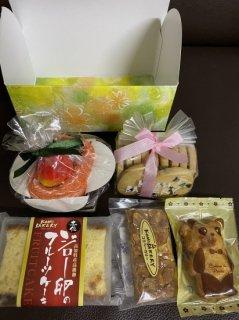 【店頭受取専用】ハンカチカップケーキと焼き菓子ギフト
