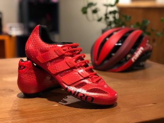 【GIRO/ジロ】PROLIGHT TECHLACE  Bright Red【生産終了モデル】