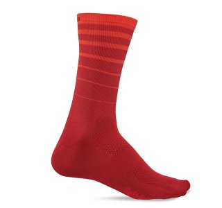 <img class='new_mark_img1' src='https://img.shop-pro.jp/img/new/icons47.gif' style='border:none;display:inline;margin:0px;padding:0px;width:auto;' />【GIRO/ジロ】COMP RACER HIGH RISE SOCKS Red 6 String