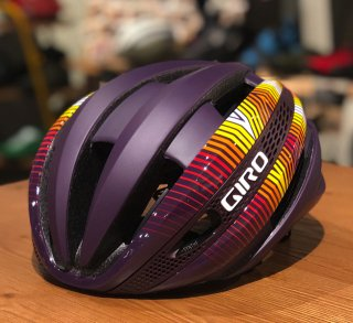 【GIRO/ジロ】SYNTHE MIPS AF(アジアンフィット) Matte Dusty Purple Heatwave