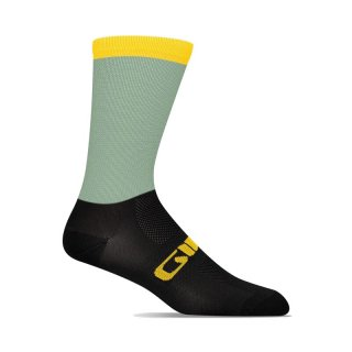 <img class='new_mark_img1' src='https://img.shop-pro.jp/img/new/icons14.gif' style='border:none;display:inline;margin:0px;padding:0px;width:auto;' />【GIRO/ジロ】COMP RACER HIGH RISE SOCKS Grey Green