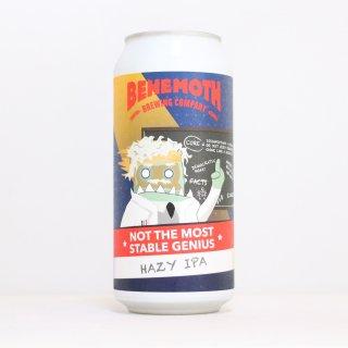 ベヘモスブルーイング ノットザモーストステイブルジーニアス ヘイジー(BEHEMOTH Brewing Not the Most Stable Genius Hazy)