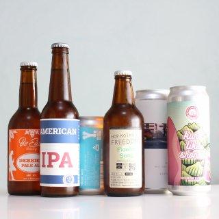 【家飲み応援 日本のビール6本セット】麦酒紀行vol.03