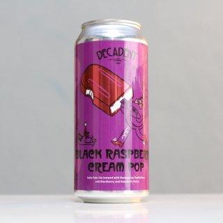 デカダント ブラック ラズベリー クリーム ポップ(Decadent Black Raspberry Cream Pop)