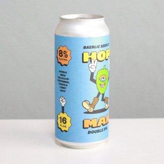 バーリックブルーイング ホップマンブルーエディション ダブルIPA(BAERLIC Brewing Hop Man Blue Edition Double IPA)