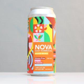 ノボブラジル ノヴァ コンブチャ オレンジブランチ(Novo Brazil NOVA Kombucha Orange Brunch)