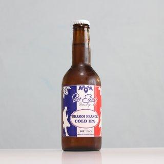 ビーイージーブルーイング しゃっこいフランス コールドIPA(Be Easy Brewing SHAKOI FRANCE Cold IPA)