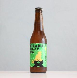 箕面ビール×イエローエイプクラフト キザルヘイジーIPA(MINOH BEER×Yellow Ape Craft KIZARU Hazy IPA)