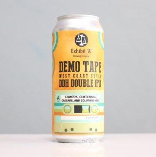 エグジビット エーブルーイング デモテープウェストコーストダブルIPA(Exhibit 'A' Brewing Demo Tape West Coast Style DIPA)