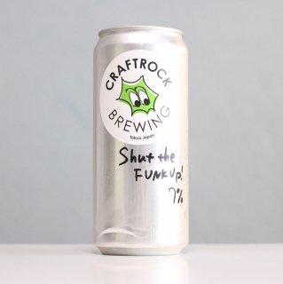 クラフトロックブルーイング×奈良醸造 シャットザファンクアップ(CRAFT ROCK Brewing×NARA Brewing  Shut the FUNK Up!)