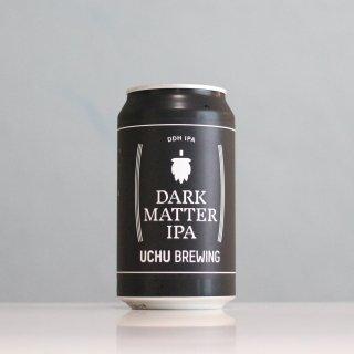 うちゅうブルーイング ダークマターIPA 缶(UCHU Brewing DARK MATTER IPA CAN)
