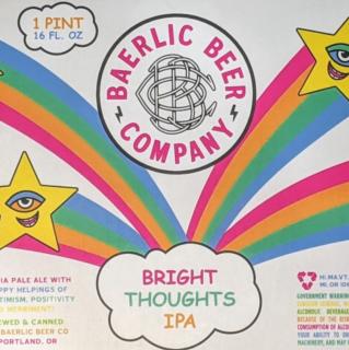 【7/31(土)入荷予定】バーリックブルーイング ブライトソーツ(BAERLIC Brewing Bright Thought)