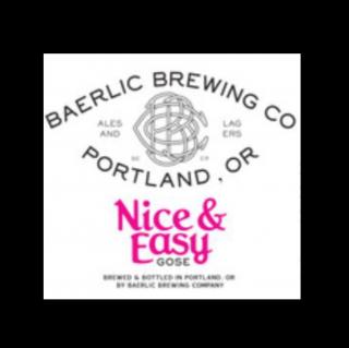 【7/31(土)入荷予定】バーリックブルーイング ナイス&イーズィゴーゼ(BAERLIC Brewing Nice & Easy Gose)