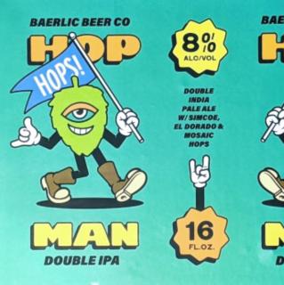 【7/31(土)入荷予定】バーリック ホップマン ティールエディション(BAERLIC Brewing  Hop Man