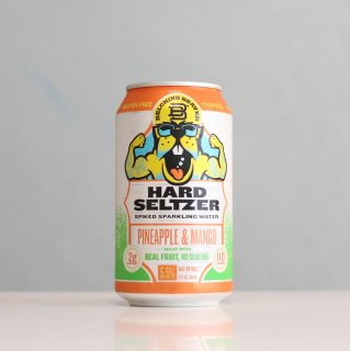 ベルチングビーバー ハードセルツァー パイナップルアンドマンゴー(Belching Beaver Hard Seltzer Pineapple & Mango)