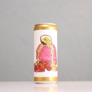 ブリュースキ ストロベリーパッションフルーツバニラソルベ(BREWSKI Strawberry Passionfruit Vanilla Sorbet)