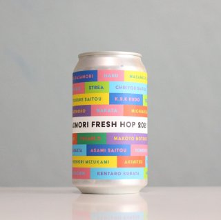 ビーイージーブルーイング 青森フレッシュホップ2021 コールドIPA 缶(Be Easy Brewing Aomori Fresh Hop 2021 - Cold IPA)