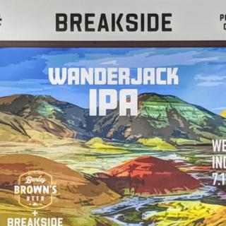 【9/29(水)入荷予定】ブレイクサイド ワンダージャックIPA(BREAKSIDE WANDERJACK IPA)
